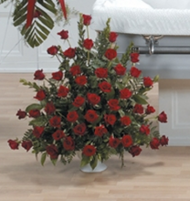 Grandest Love Rose Urn Bouquet