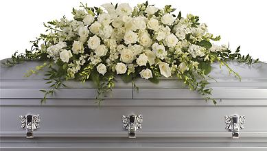 Purity and Peace Casket Spray